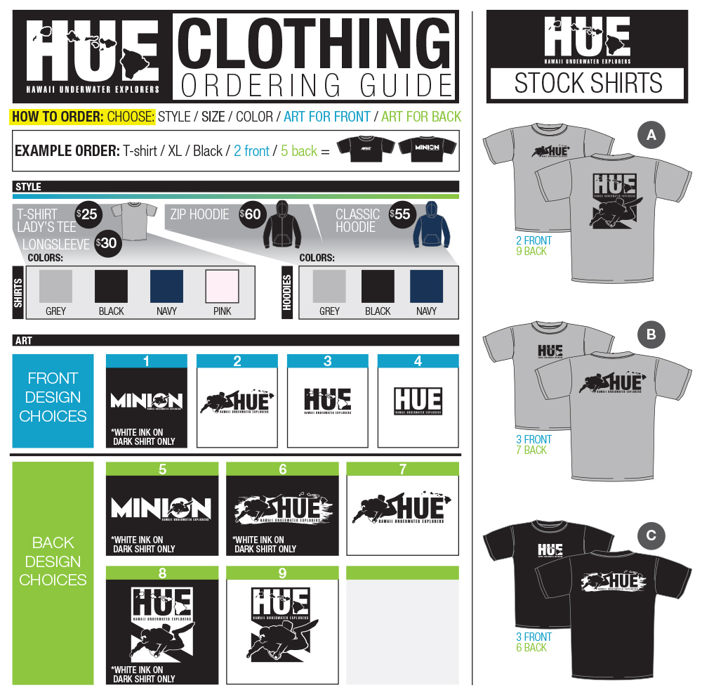 2014 HUE-Clothing-Order-Guide
